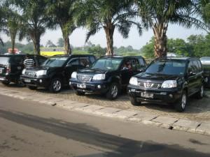 Persiapan berangkat di Rest Area KM 19 Toll Jakarta - Cikampek
